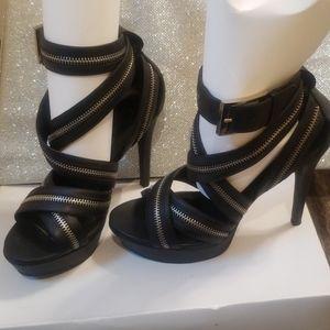 Jessica Simpson Zipper Strappy Sandals